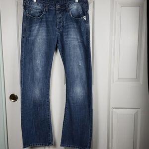 Buffalo • 33x32 jeans King slim bootcut distressed